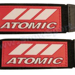 Zapinki do nart Atomic Czerwono/Białe - 2szt. (3002) najtaniej