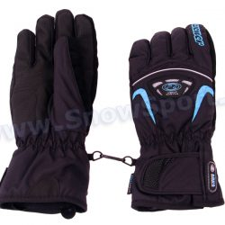 Rękawice Ziener GLENN AS Glove Ski Alpine (Black/Blue) najtaniej