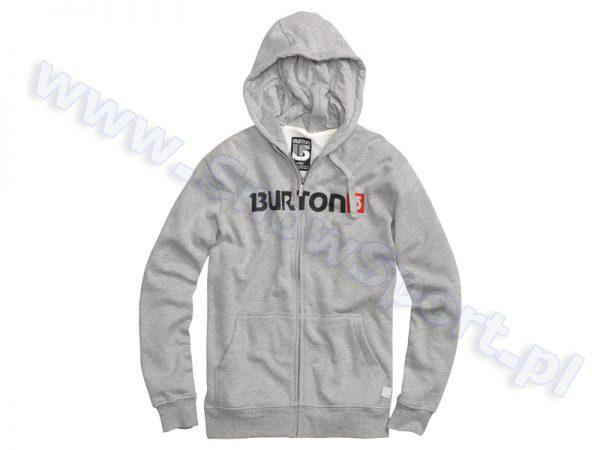 Bluza Burton Logo Horiz Grey najtaniej