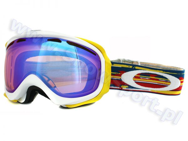 Gogle OAKLEY Elevate Ripped Torn White Orange (59-554) K1 najtaniej