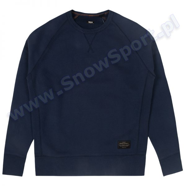 Bluza Levis Crewneck Dress Blue (96996-0011) 2017 najtaniej